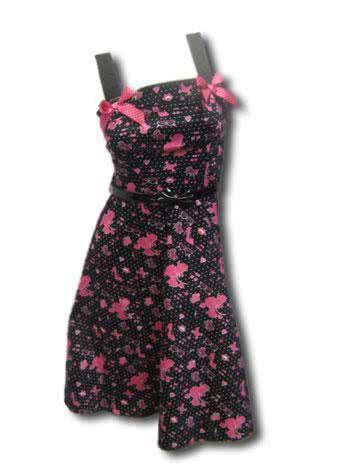 Pudel Kleid Pink