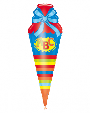ABC Schultüte Folienballon 111cm