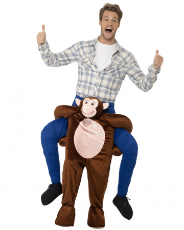Rider On Monkey Piggyback Costume