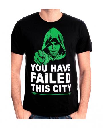Arrow T-Shirt You Have Failed This City