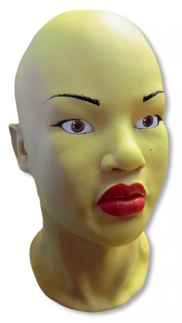 Asian woman mask Mi Ling
