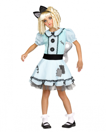 Wind Up Doll Girl Costume