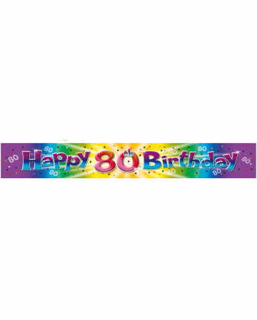 Films banner 80th birthday