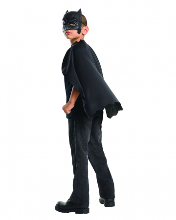 Batman cape with mask for children
