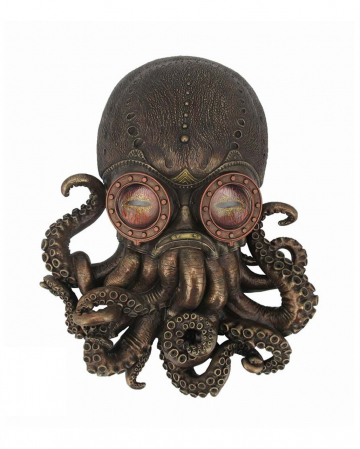 Bioctopus Steampunk Octopus Wall Decoration