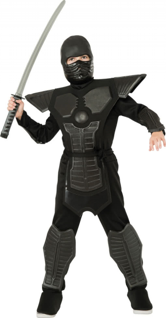 Black Ninja Child Costume