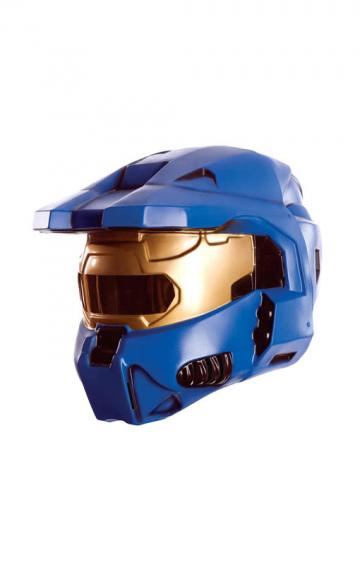 Blue Spartan Helmet