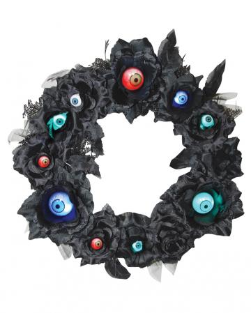 Flower ring with LED eyes