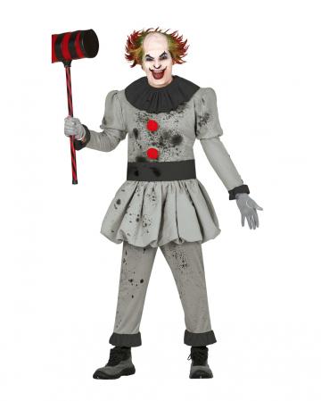 Bobby the Killer Clown Kostüm für Erwachsene