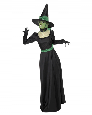 Wicked Witch Costume Black-Green