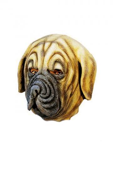 Boxer Hunde Maske aus Latex