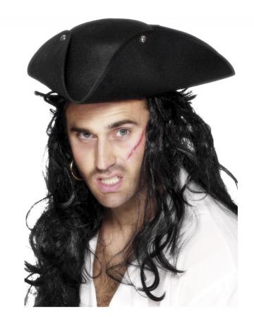 Buccaneer Piraten Hut