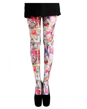 Pop Art Comic Pantyhose