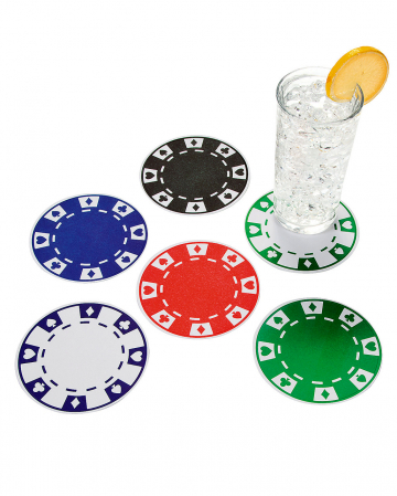 Casino Coasters round