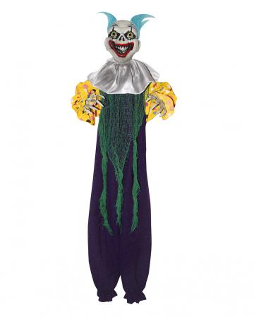 Creepy Clown Decoration Purple