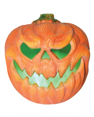 Creepy Pumpkin Halloween Deco With Light 31cm