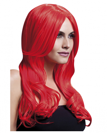 Women Wig Khloe neon red