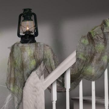 Decoration Gauze Net Blacklight Glow