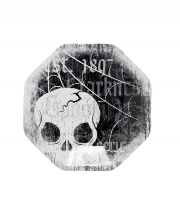 Skull dessert plate
