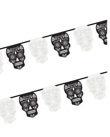 Día De Los Muertos Garland - Skull