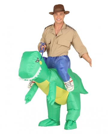 T-Rex Carry Me Kostüm aufblasbar