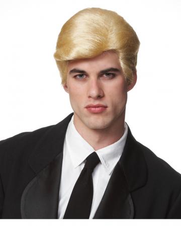 Donald Trump Perücke blond