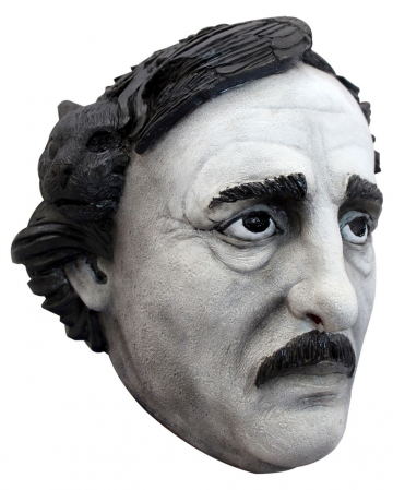 Edgar Allan Poe Latex Maske