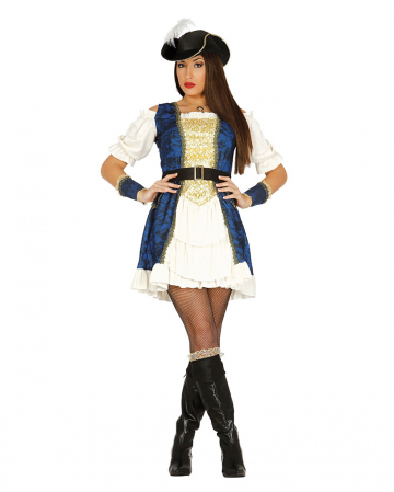 Edle Piratin Kostümkleid
