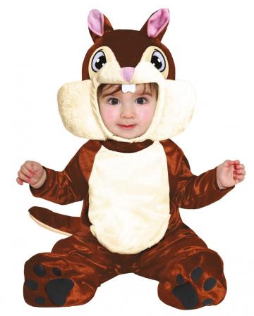 Eichhörnchen Babykostüm