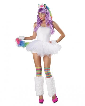 Unicorn costume set 4-piece