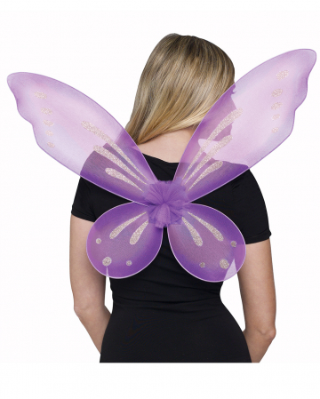Elfen Flügel violett