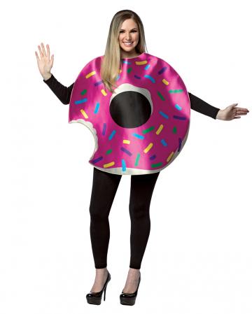 Strawberry Donut Costume With Bite