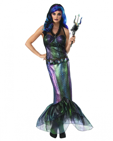 Queen Of The Dark Seas Mermaid Costume