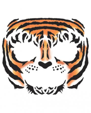Face Tattoo Tiger