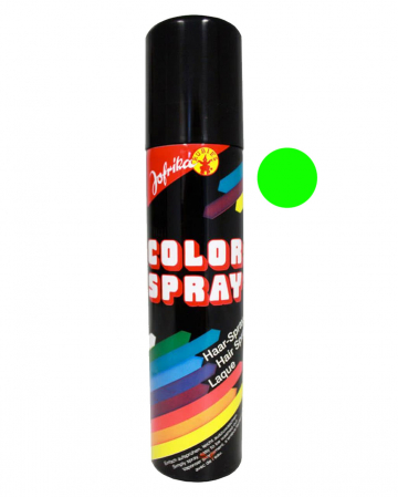 Coloured Hairspray Green