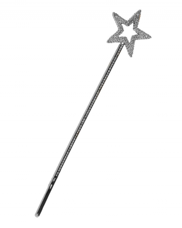 Fairy Magic Wand Silver