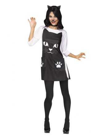 Feline Chic Cat Costume For Adults