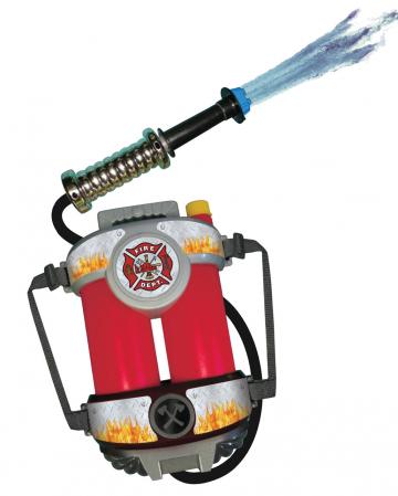 Feuerwehr Wassertank Rucksack mit Schlauch