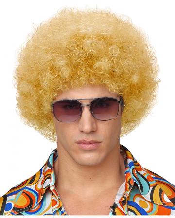 Filigran Afroperücke Blond