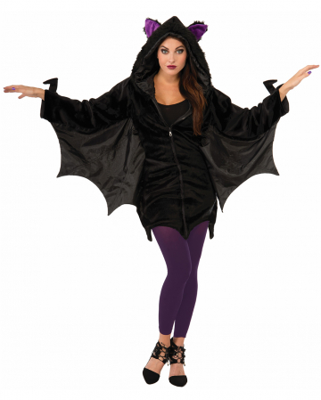 Bat Hoodie With Wings For Adults