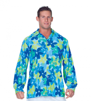 Hippie Men´s Shirt Blue