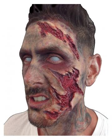 Trauma Face Schaumlatex Applikation