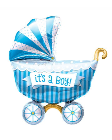 Foil Balloon Stroller - It´sa Boy -