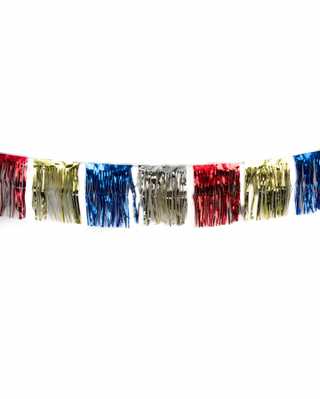 Fringe Garland Colorful 4m