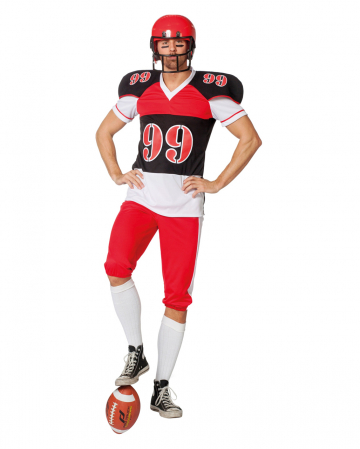 Football Spieler Herren Kostüm