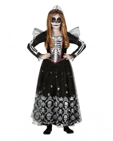 Miss Skeleton Children Costume Dress