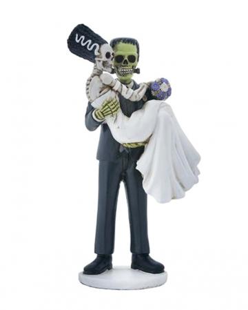 Frankenskull & Bride Figurine 20cm
