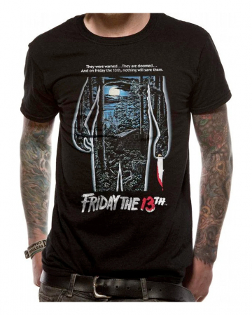 Friday The 13th Movie Poster T-Shirt
