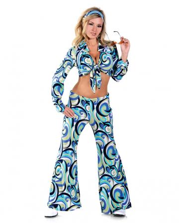 Funky Hippie Kostüm Large