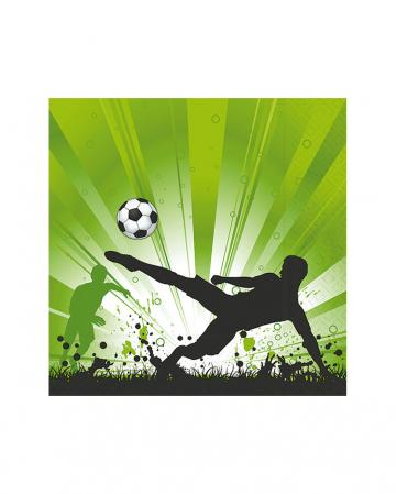 Fußball Fieber Servietten 20 Stück